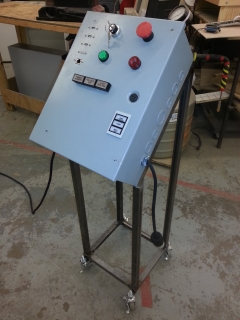 Beer control box and stand