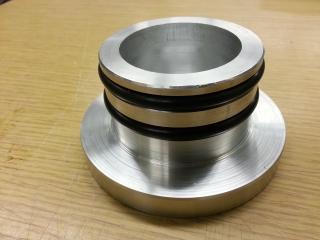 LN2 plug with O rings